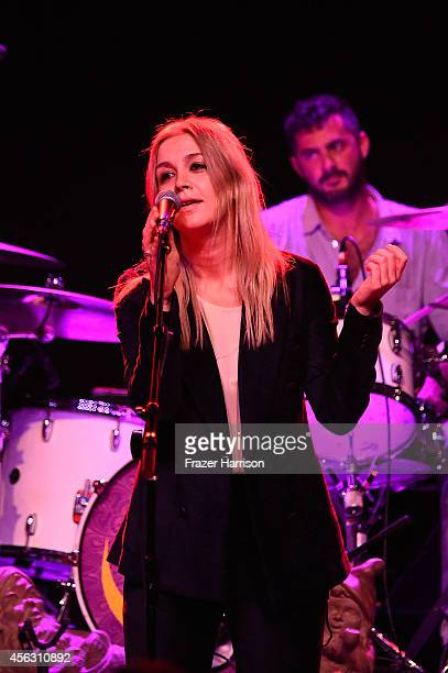 Singe Chase Cohl performs at theThe Best Fest Presents GEORGE FEST An Evening To Celebrate The Music Of George Harrison at The Fonda Theatre on...