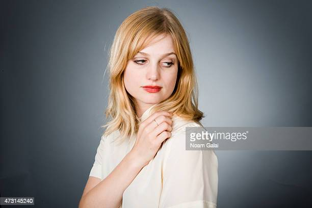 Singer A Fine Frenzy poses for a portrait on September 27 2012 in New York City