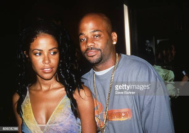 Singer Aaliyah and Damon Dash attend the premiere of 'Planet of the Apes' at the Zeigfeld Theatre in New York 2001