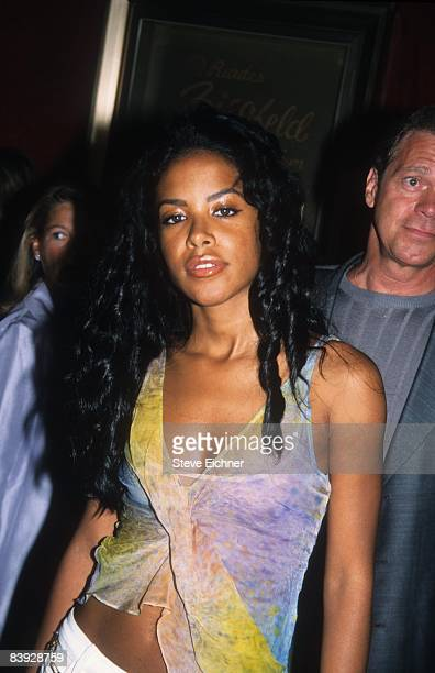 Singer Aaliyah attends the premiere of 'Planet of the Apes' at the Ziegfeld Theatre in New York 2001