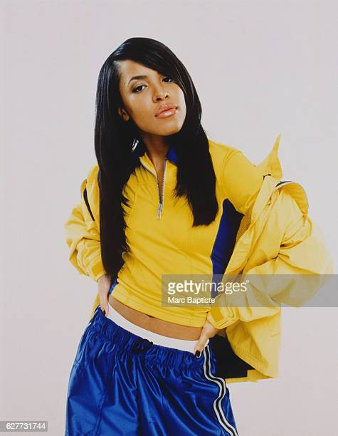 Singer Aaliyah COVER IMAGE