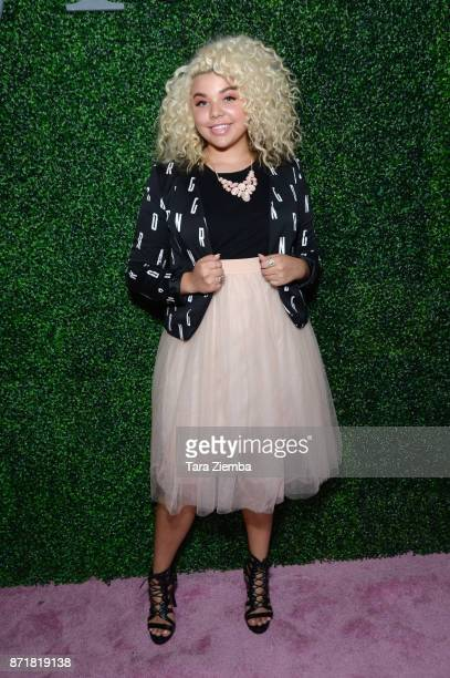 Singer Aaliyah Rose attends Stylecon OC at OC Fair and Event Center on November 4 2017 in Costa Mesa California