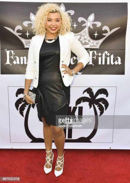 Singer Aaliyah Rose attends the Single Release Party 'For Two' on June 16 2017 in Los Angeles California