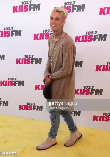 Singer Aaron Carter attends 1027 KIIS FM's 2017 Wango Tango at StubHub Center on May 13 2017 in Carson California