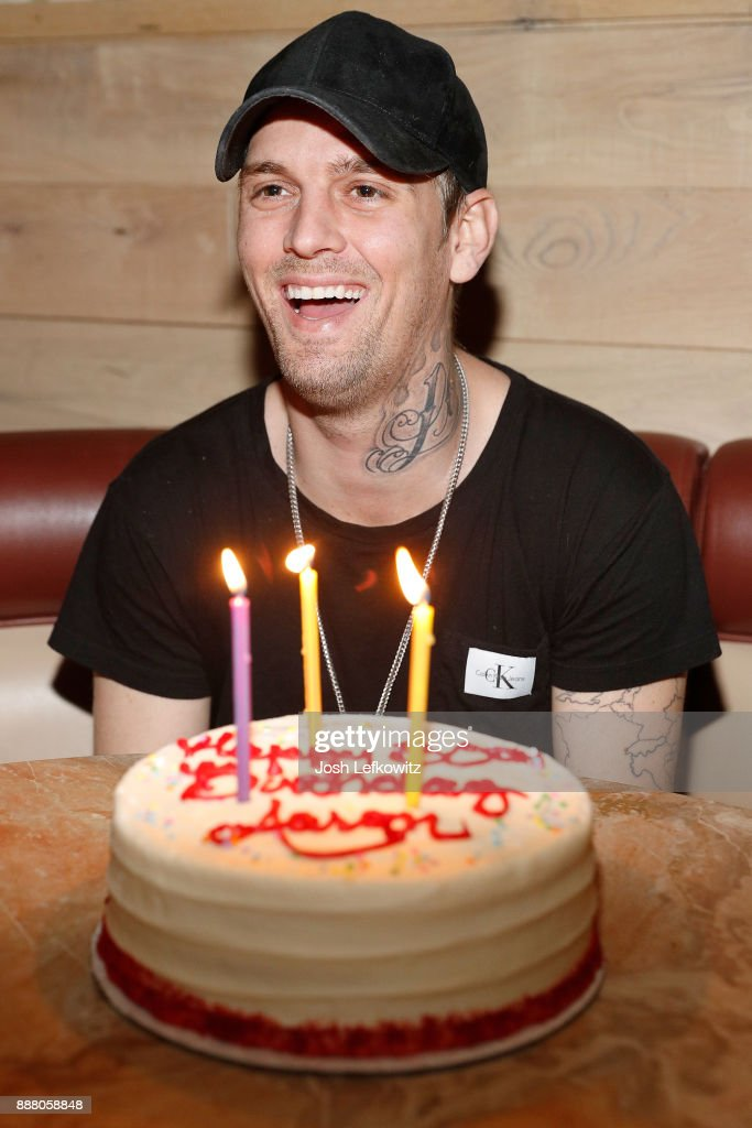 "Aaron Carter Celebrates His 30th Birthday And The Release Of His New Single ""Don't Say Goodbye"""