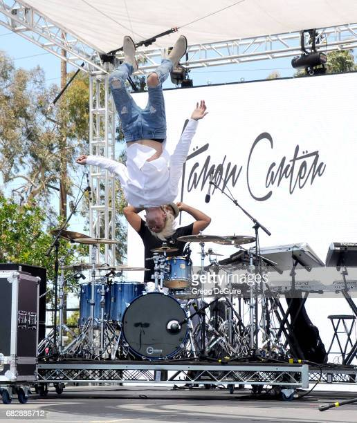 Singer Aaron Carter performs at 1027 KIIS FM's 2017 Wango Tango at StubHub Center on May 13 2017 in Carson California