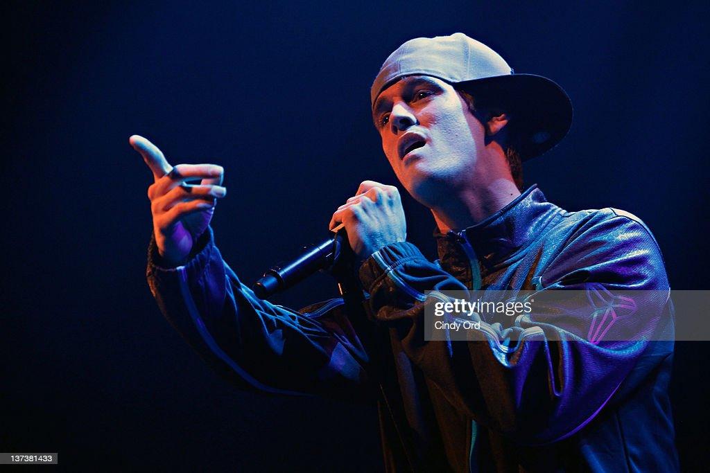 Aaron Carter In Concert : News Photo