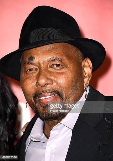 Singer Aaron Neville attends the 25th anniversary MusiCares 2015 Person Of The Year Gala honoring Bob Dylan at the Los Angeles Convention Center on...