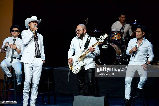 Singer AB Quintanilla performs at the 2016 Latino's De Hoy Awards at Dolby Theatre on October 9 2016 in Hollywood California