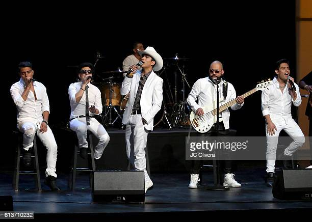 Singer AB Quintanilla performs onstage during the 2016 Latinos de Hoy Awards at Dolby Theatre on October 9 2016 in Hollywood California