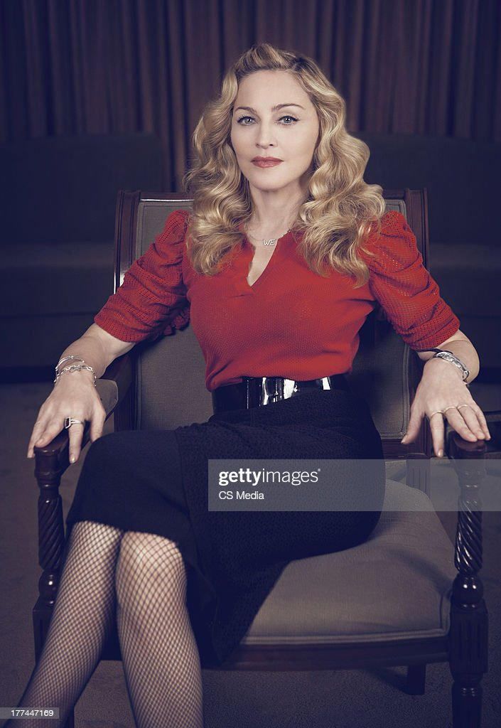 Madonna, Portrait shoot, September 12, 2011