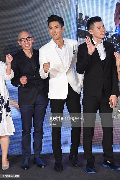Singer actor and model Choi Siwon arrives at red carpet of 'China Film New Power' on June 24 2015 in Beijing China