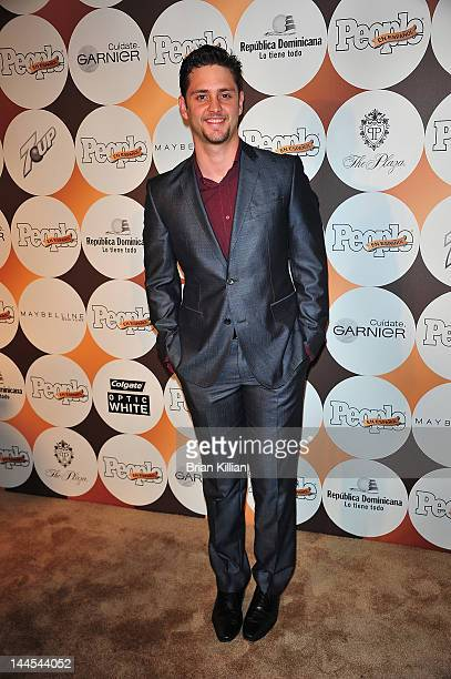 Singer / Actor Christopher Uckermann attends the People En Espanol's '50 Most Beautiful' Event at The Plaza on May 15 2012 in New York City