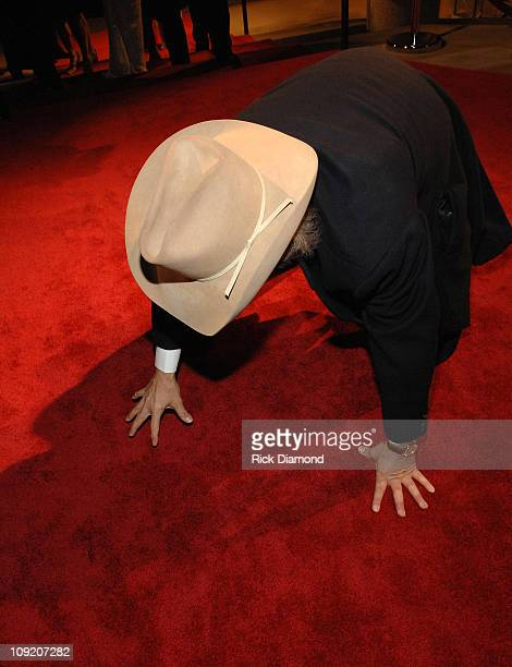 Singer / Actor Dwight Yoakam arrives at the BMI Country Awards and reception honoring Willie Nelson at the BMI building on November 6 2007 in...