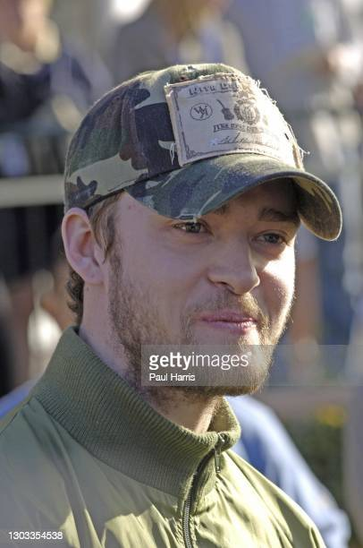 Singer, Actor Justin Timberlake Participates in the 47th Annual Bob Hope Chrysler Classic Pro Am January 18, 2006 held at the Bermuda Dune Country...