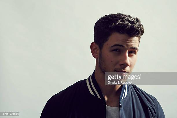 Singer/ actor Nick Jonas poses for a portrait at the 1027 KIIS FM's Wango Tango portrait studio for People Magazine on May 9 2015 in Carson California
