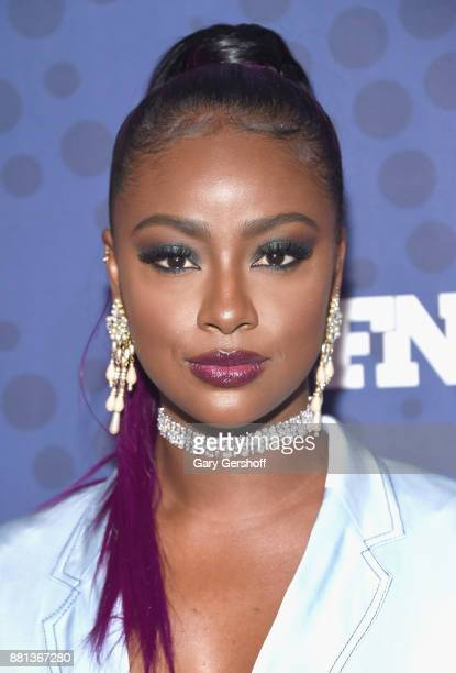 Singer actress and model Justine Skye attends the 31st FN Achievement Awards at IAC Headquarters on November 28 2017 in New York City
