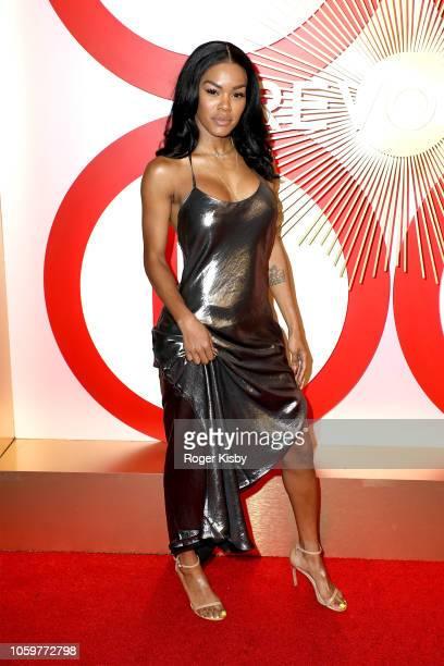 Singer, actress and model Teyana Taylor attends Revolve's second annual #REVOLVEawards at Palms Casino Resort on November 9, 2018 in Las Vegas,...