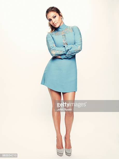 Singer actress and producer Jennifer Lopez is photographed for 20th Century Fox Press Shoot on April 19 2016 in Los Angeles California