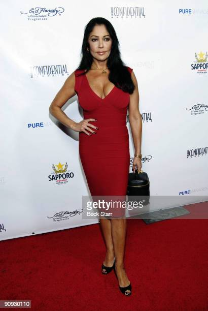Singer, Actress Apollonia arrives to the Los Angeles Confidential Magazine Annual Pre-Emmy Party on September 17, 2009 in Belair, California.