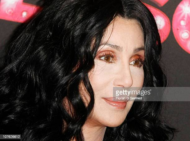 Singer actress Cher attends the photocall of 'Burlesque' at Hotel Adlon on December 16 2010 in Berlin Germany
