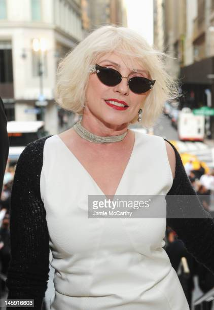 Singer Actress Debbie Harry attends the 3rd annual amfAR Inspiration Gala New York at The New York Public Library Stephen A Schwarzman Building on...