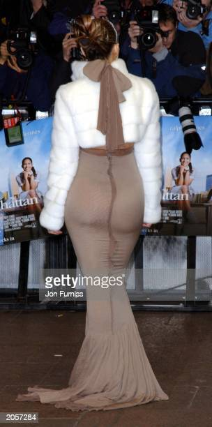 Singer Actress Jennifer Lopez arrives at the UK Premier of Maid in Manhattan at the Odeon Leicester Square London on February 26 2003 JLo said she...