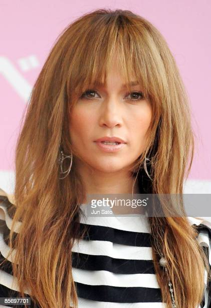 Singer/ actress Jennifer Lopez attends the special event promoting Japanese bag maker Samantha Thavasa's new bag collection at Marui City Shibuya on...