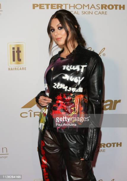 Singer / Actress Kira Kosarin attends the 2019 PreGRAMMY event presented by OK Star In Touch and Life Style magazines at the Liaison Restaurant on...