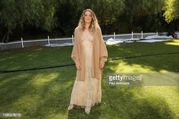 """Singer / Actress LeAnn Rimes visits Hallmark Channel's """"Home & Family"""" at Universal Studios Hollywood on November 12, 2020 in Universal City,..."""
