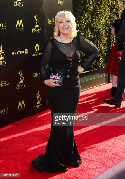 Singer /Actress Mari Wilson attends the 45th Annual Daytime Creative Arts Emmy Awards at the Pasadena Civic Auditorium on April 27 2018 in Pasadena...