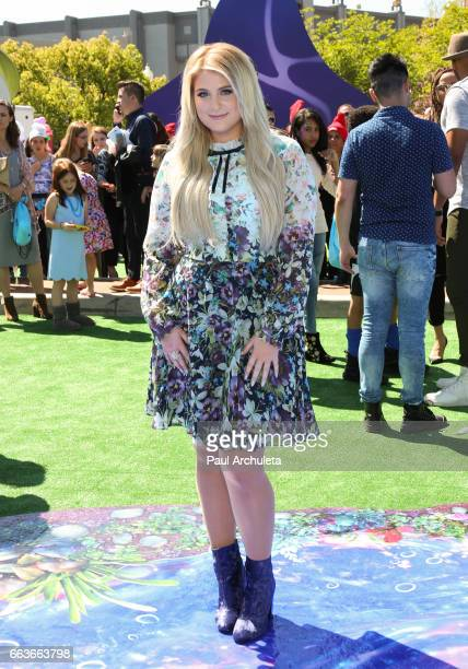 Singer / Actress Meghan Trainor attends the premiere of 'Smurfs The Lost Village' at ArcLight Cinemas on April 1 2017 in Culver City California