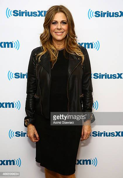 Singer/ actress Rita Wilson visits the SiriusXM Studios on March 17 2015 in New York City
