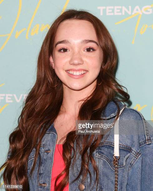 Singer / Actress Ruby Jay attends the Johnny Orlando EP release and tour kick off party at Bardot on April 07 2019 in Hollywood California