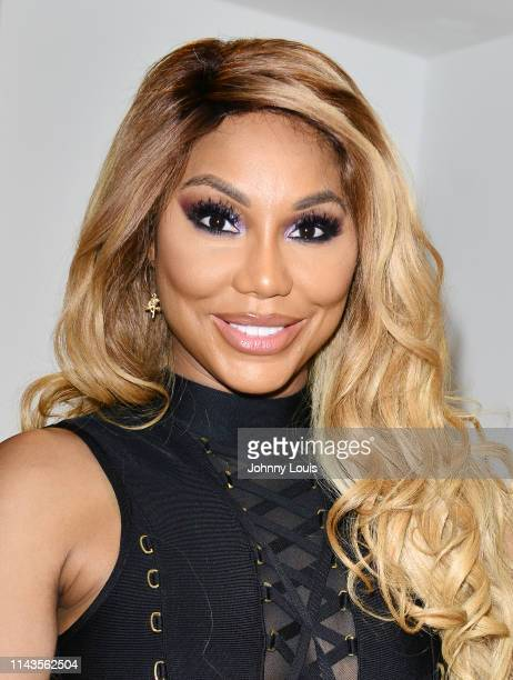 Singer / actress Tamar Braxton backstage after performing on stage during the 6th Annual Mother's Day Experience at James L Knight Center on May 12...