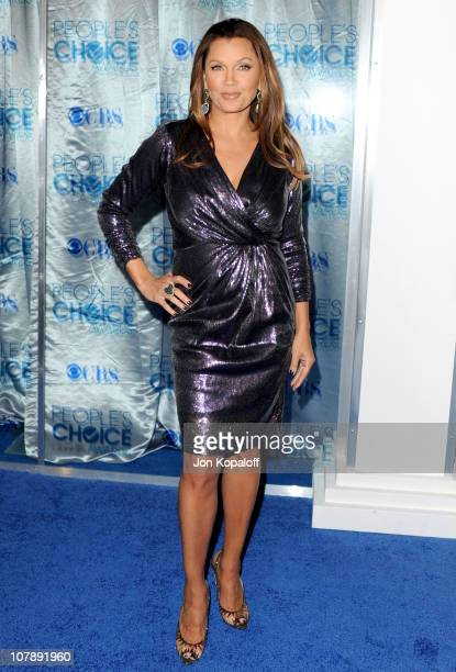 Singer/ Actress Vanessa Williams arrives at the 2011 People's Choice Awards at Nokia Theatre LA Live on January 5 2011 in Los Angeles California