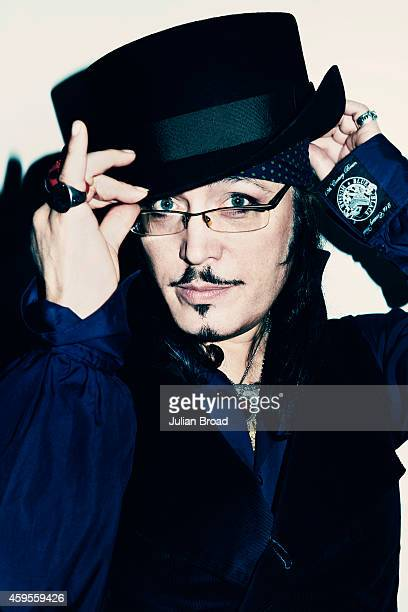 Singer Adam Ant is photographed on April 11 2013 in London England