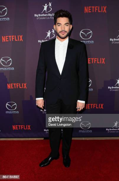Singer Adam Lambert attends Big Brothers Big Sisters of Greater Los Angeles' 2017 Big Bash Live with Travis and Kelly at The Beverly Hilton Hotel on...