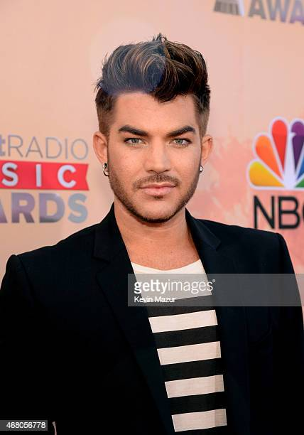 Singer Adam Lambert attends the 2015 iHeartRadio Music Awards which broadcasted live on NBC from The Shrine Auditorium on March 29 2015 in Los...