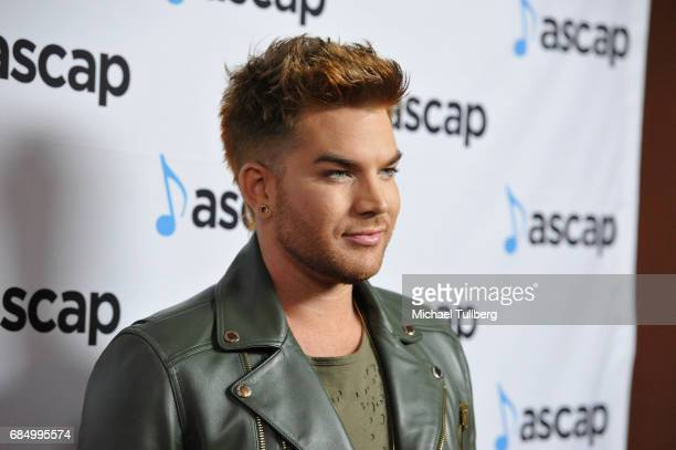 Singer Adam Lambert attends the 34th Annual ASCAP Pop Music Awards at The Wiltern on May 18 2017 in Los Angeles United States