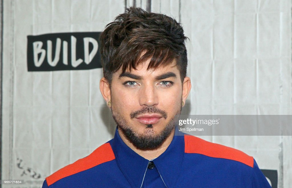 Singer Adam Lambert attends the Build Series to discuss Las Vegas residency with Queen at Build Studio on May 7, 2018 in New York City.