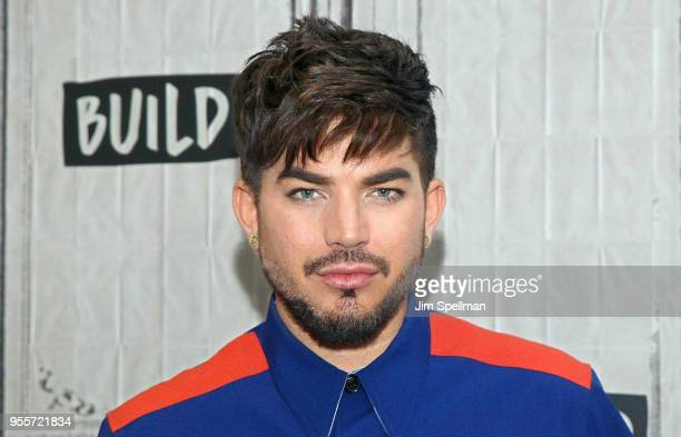 Singer Adam Lambert attends the Build Series to discuss Las Vegas residency with Queen at Build Studio on May 7 2018 in New York City