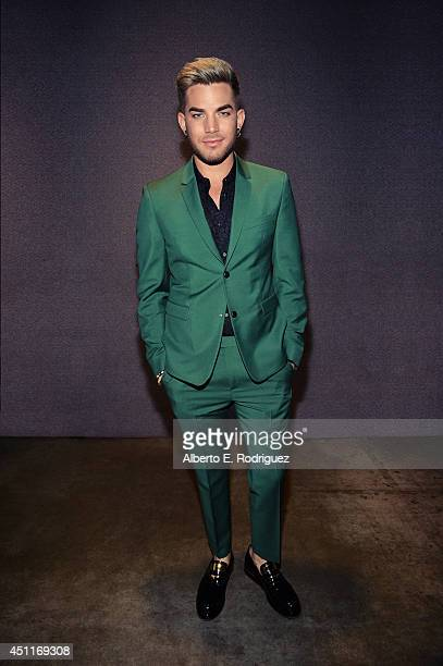 Singer Adam Lambert is photographed at the I Heart Awards for NBC on May 1 2014 in Los Angeles California