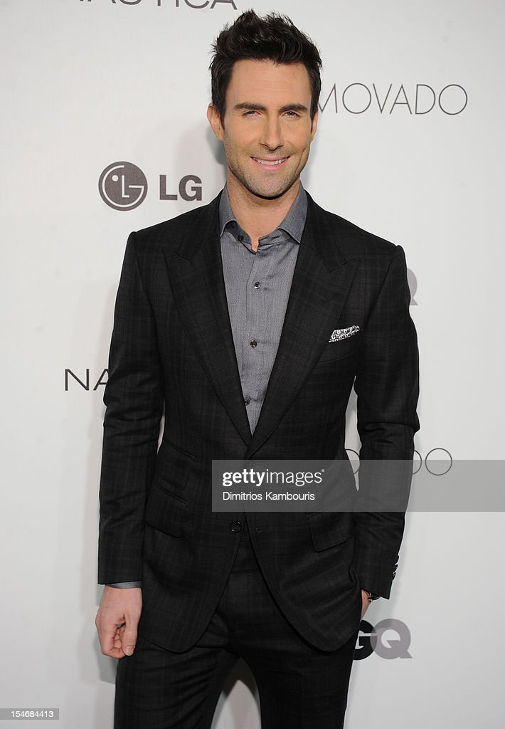 Singer Adam Levine attends the 2012 GQ Gentlemen's Ball presented by LG, Movado, and Nautica on October 24, 2012 in New York City.