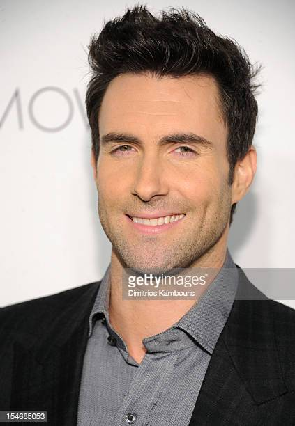 Singer Adam Levine attends the 2012 GQ Gentlemen's Ball presented by LG Movado and Nautica on October 24 2012 in New York City