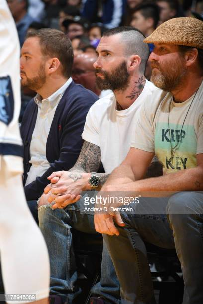 Singer, Adam Levine attends the Memphis Grizzlies game against the Los Angeles Lakers on October 29, 2019 at STAPLES Center in Los Angeles,...