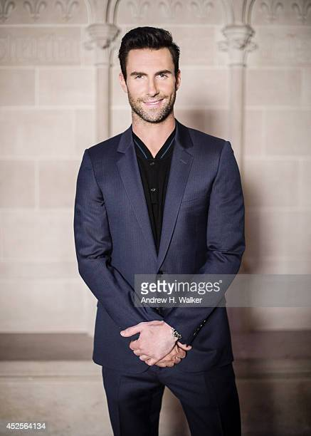 Singer Adam Levine is photographed at the Logo TV's Trailblazers at the Cathedral of St John the Divine on June 23 2014 in New York City