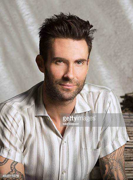 Singer Adam Levine is photographed for Los Angeles Times on August 22 2014 in Encino California PUBLISHED IMAGE CREDIT MUST READ Mel Melcon/Los...
