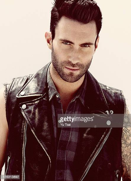Singer Adam Levine is photographed for Out Magazine on July 1 2011 in Los Angeles California COVER IMAGE