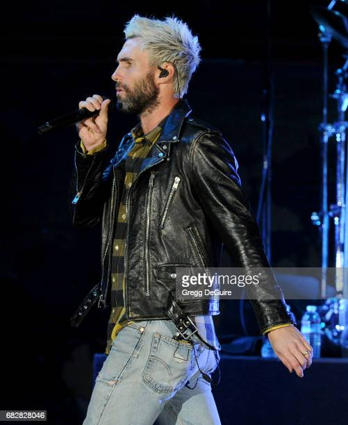 Singer Adam Levine of Maroon 5 performs at 1027 KIIS FM's 2017 Wango Tango at StubHub Center on May 13 2017 in Carson California